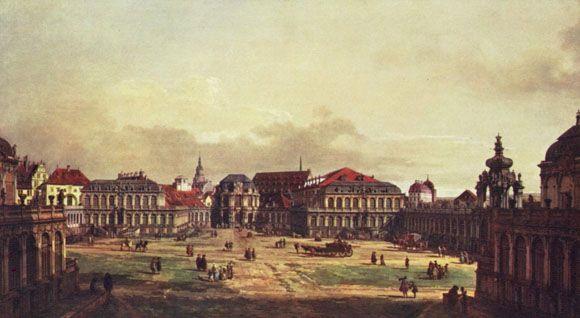 Veduta di Dresda