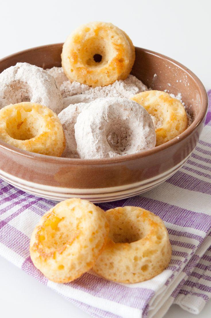 Best Baked Doughnuts (100 calories/doughnut) #portioncontrol