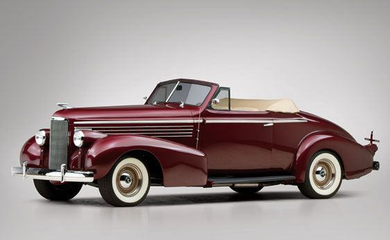 1938 LaSalle Custom Convertible Coupe   Vintage Cars