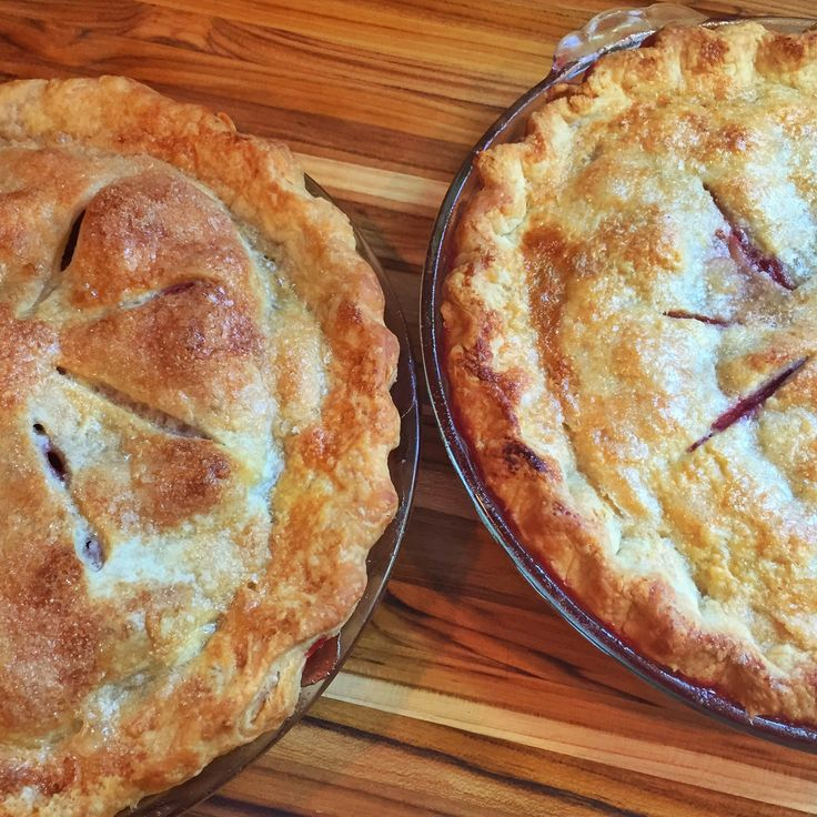 My Favorite Pie Crust with Butter and Lard