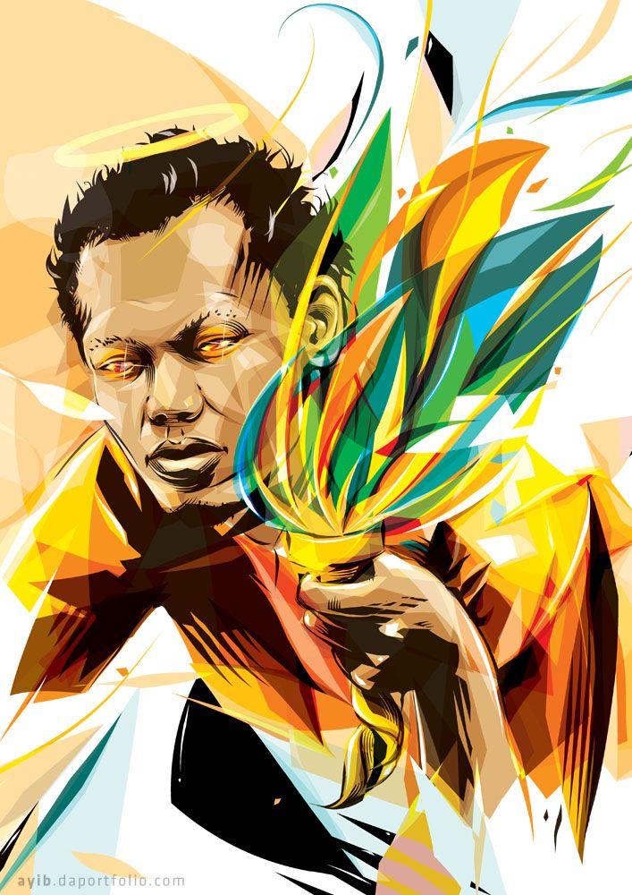 """""""PROVOKE #3"""" 2011 by AYIB http://ayib.daportfolio.com/ #vectorart"""