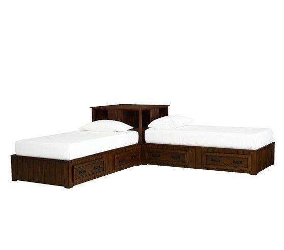 Corner Twin Bed Setup