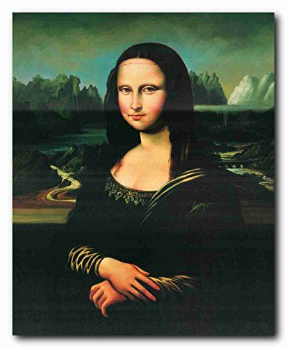 Simply Wow! Add stylish decorative art to your blank walls by hanging this Leonardo Da Vinci Mona Lisa reproduction art pint poster. Mona Lisa comes alive in this beautiful poster from Impact Posters Gallery. So let the diva steal every heart in your living space with her vivacity and beauty. Grab this wonderful poster fir its high quality and excellent color accuracy.