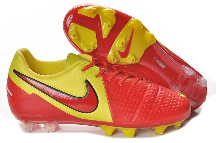 Red Yellow Nike CTR360 Maestri III ACC FG