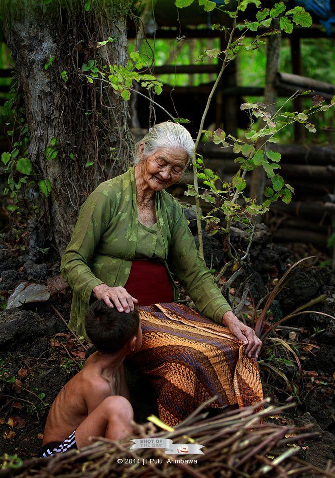 kasih sayang seorang nenek