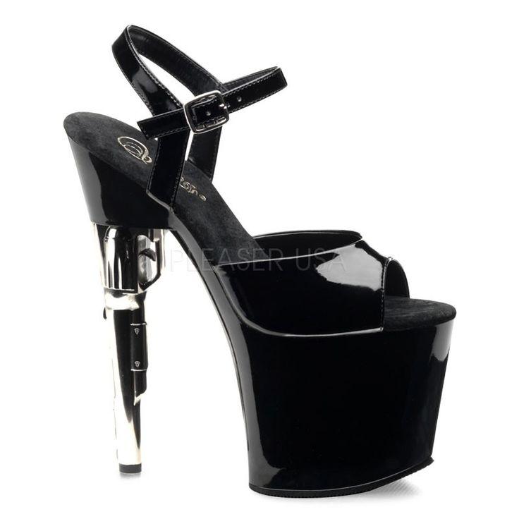 Pleaser shoes item # Bondgirl-709. $71.24