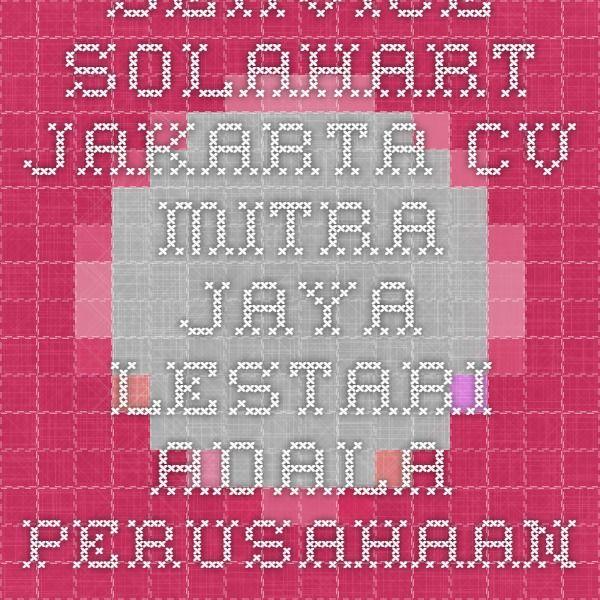 Service Solahart.Kami Menawarkan Jasa-jasa Service Solahart Daerah Jakarta Jakarta,Barat,Jakarta,Selatan,Jakarta Timur,Jakarta Utara Perusahaan Kami mampu Menangani  Solahart,Handal,Wika Swh,Edwards dll Hubungi Kami: CV MITRA JAYA LESTARI Jalan Raya Jatiwaringin No 24 Pondok gede-Bekasi Telepone:02183643579 Hp 087770717663 http://service solahartcvmitralestari.webs.com