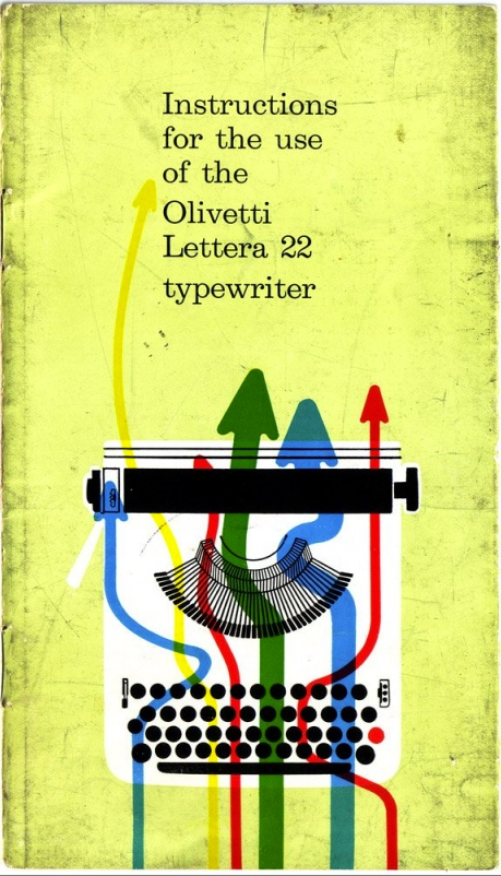 Olivetti Lettera 22 typewriter instruction manual
