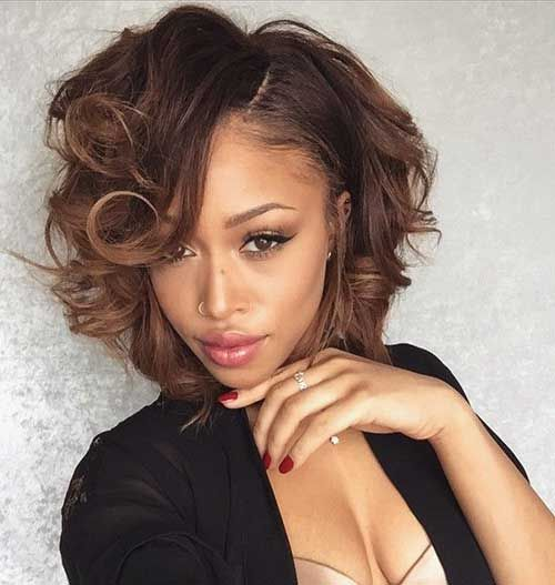 20 Cute Bob Hairstyles For Black Women | http://www.short-haircut.com/20-cute-bob-hairstyles-for-black-women.html