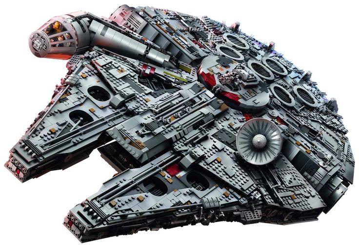 Der LEGO-Millennium-Falcon im Zeitraffer zusammengebaut