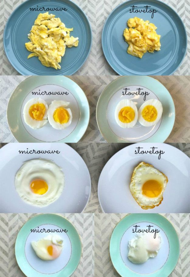 how to cook egg using microwave