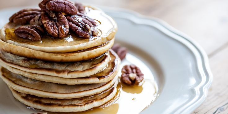 This basic recipe for American pancakes recipe is a great way to greet the morning on a weekend