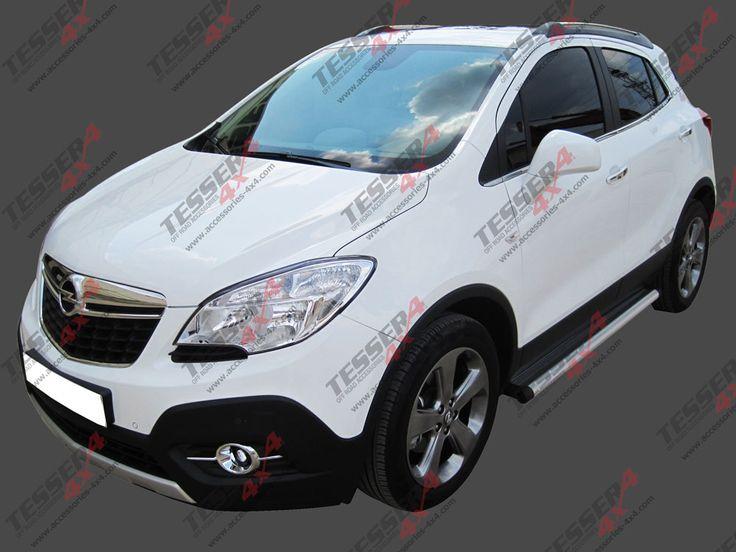 #Opel #Mokka #side #steps #aluminum & #stainless #steel