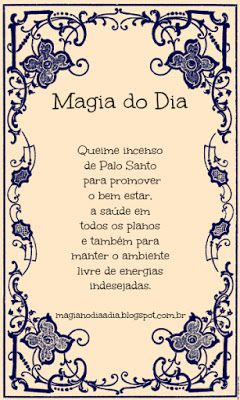 Magia no Dia a Dia: Magia do Dia: Palo Santo http://magianodiaadia.blogspot.com.br/