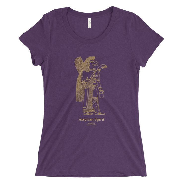 Assyrian Spirit T-Shirt - Purple (Women)