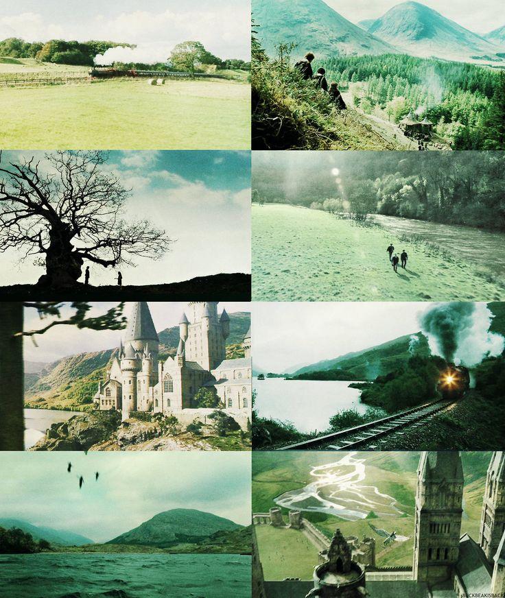 Hogwarts scenery