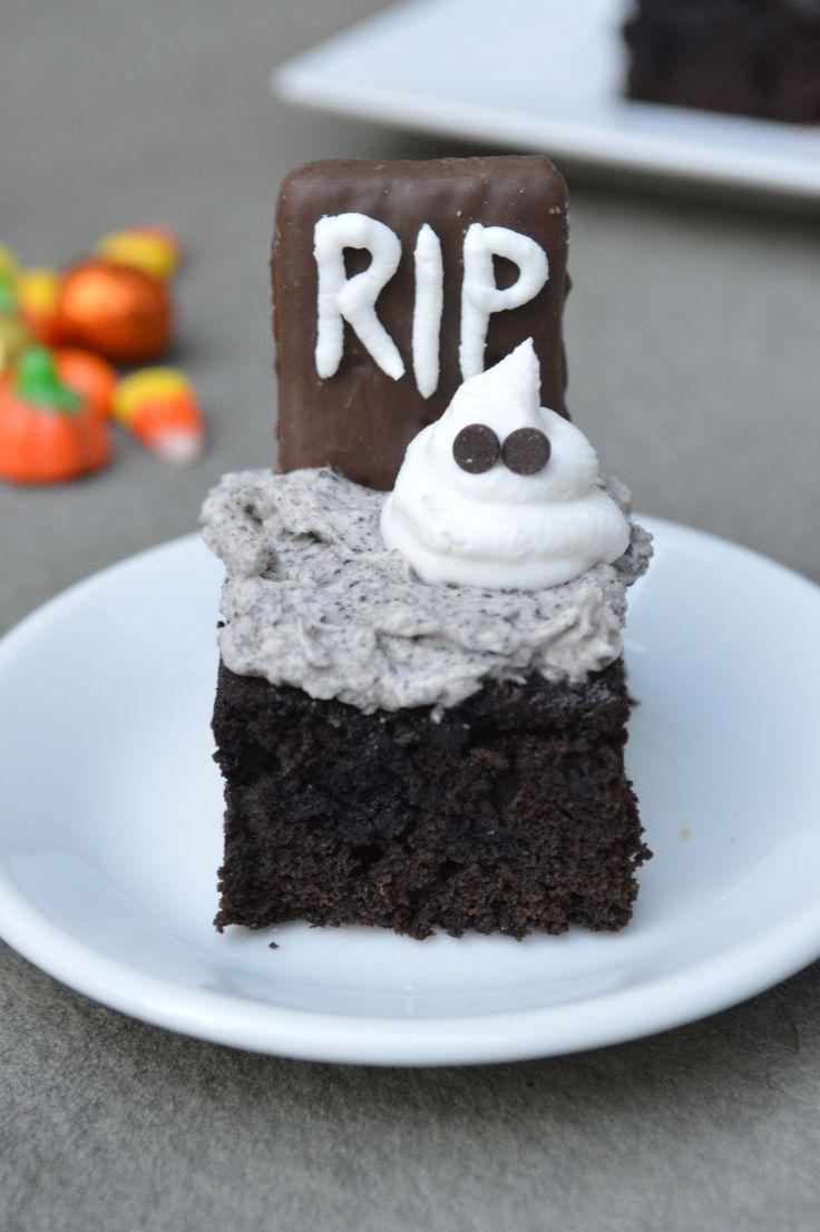 Graveyard Brownie Recipe