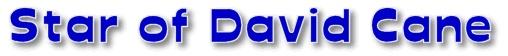 Polymar clay Star of David