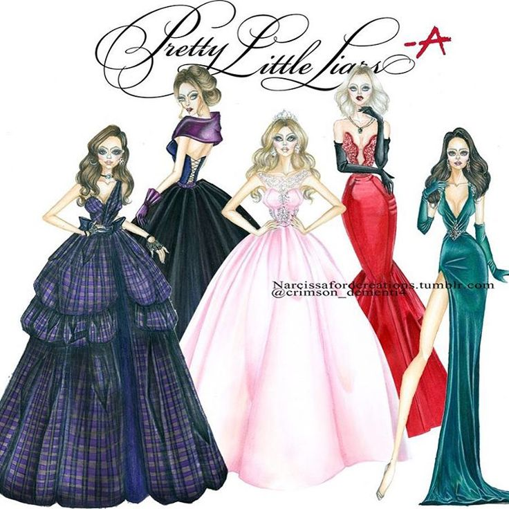 """All Liars At Dollhouse Prom ❤️@mandiline ❤️ @prettylittleliars  #pll #pllfinale…"
