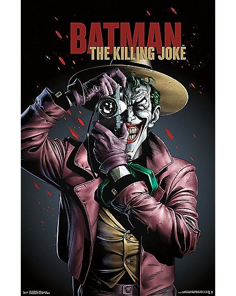Joker Batman: The Killing Joke Poster - DC Comics - Spencer's