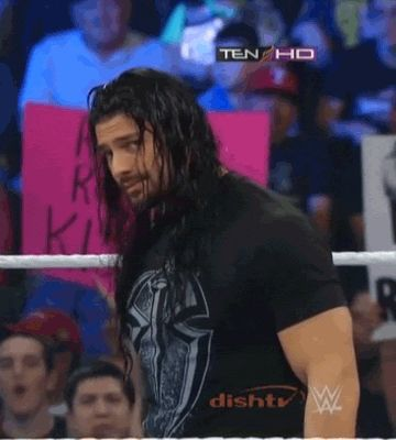 Deans' Dirty Deeds (<3 Roman Reigns) - if Roman winked at me I'd faint!