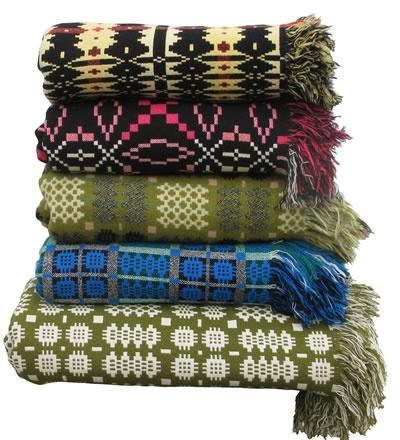 Jen Jones Welsh Quilts & Blankets - Tapestry Blankets