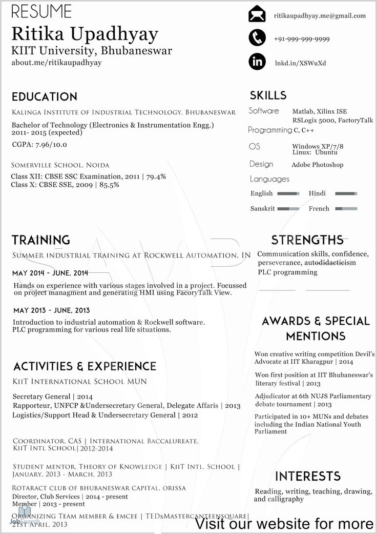 Create Free Resume Online Download 2020 Free Resume