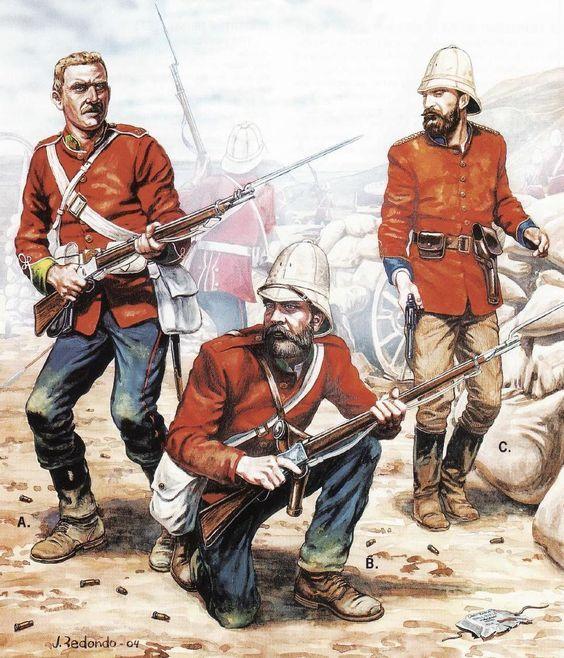 British Infantry, Rorkes Drift