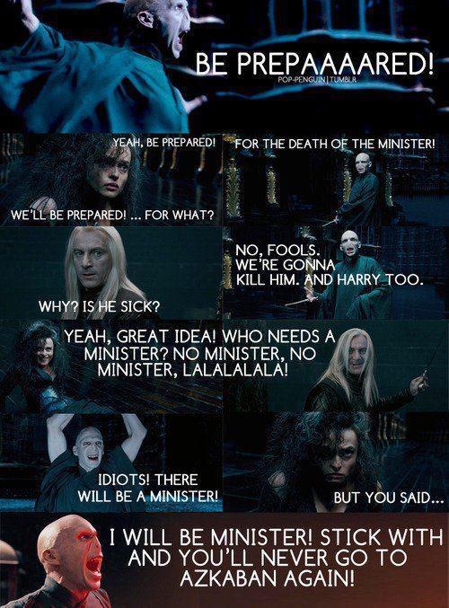 Harry Potter meets Lion King. hahahah!