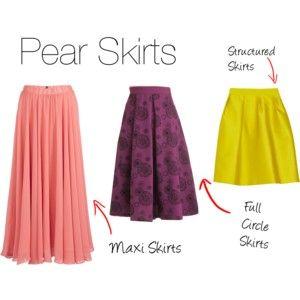 Pear Skirts