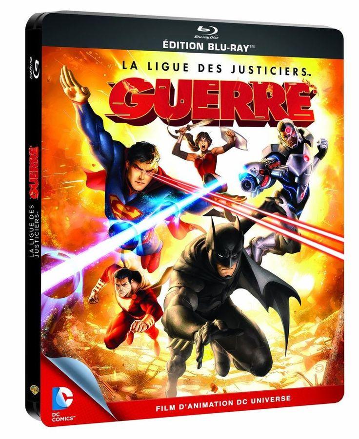 La Ligue des justiciers - Guerre - DVD + Blu-Ray Boîtier métal en BLU-RAY - NEUF