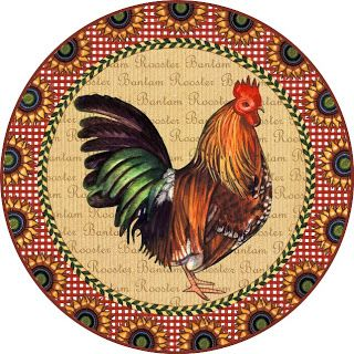 MI BAUL DEL DECOUPAGE: COUNTRY FRESH: ROOSTERS AND CHICKENS.