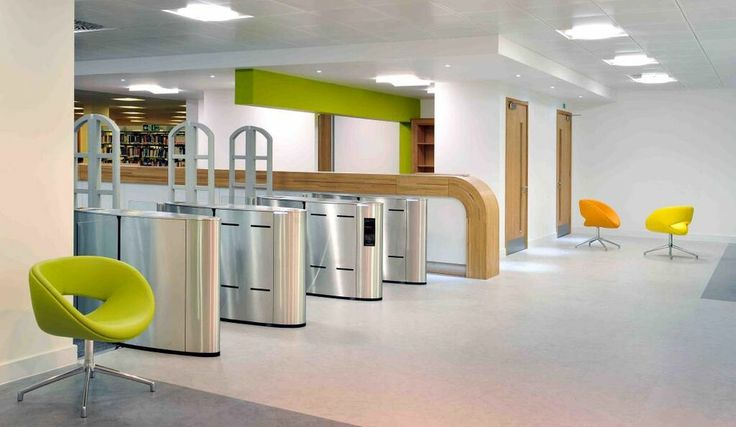 Styccobond F46 was used to adhere vinyl floorcovering at a library in St George's University of London.