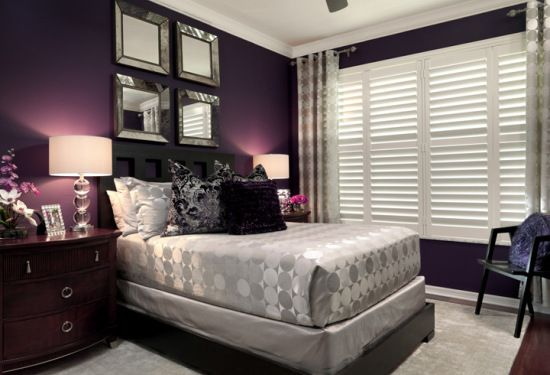 The Most Popular Benjamin Moore Purples (and Purple Undertones) - Kylie M Interiors passion plum