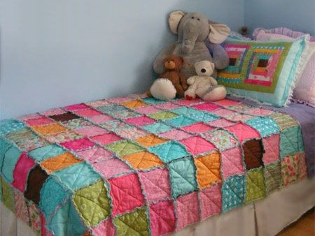 Home-Dzine - How to make a patchwork quilt