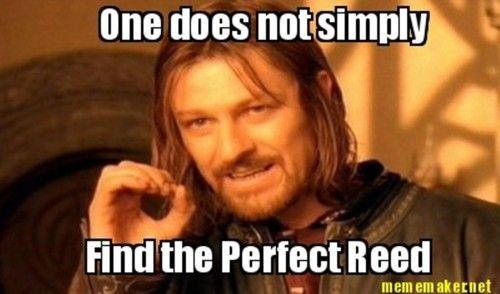 Any musician who plays an instrument with a reed has this problem...