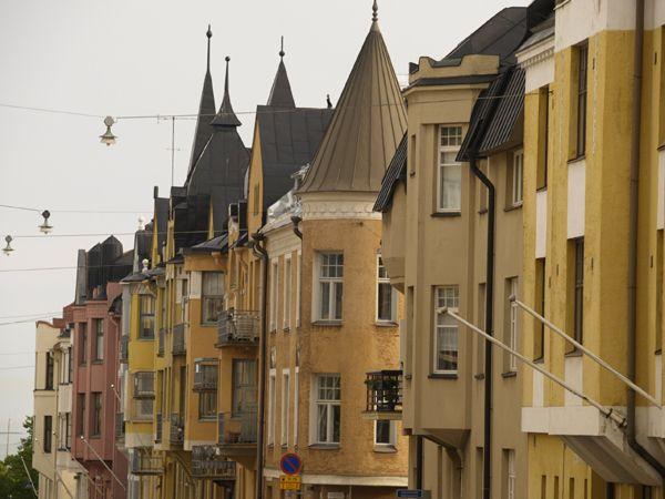 Street scene, Helsinki, Finland