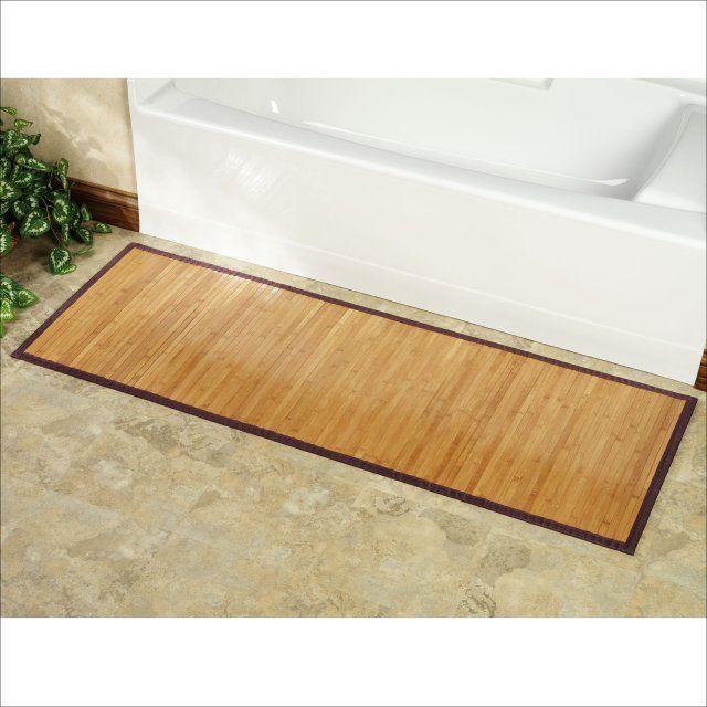 Skinny Bath Mat Er Than Retail, Thin Bathroom Rugs