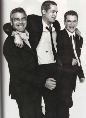 George Clooney | Brad Pitt | Matt Damon - Ocean's Eleven