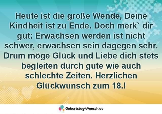 L 18 Geburtstag Spruche Top Geburtstagsspruche Zur Volljahrigkeit Spruche Zum Geburtstag 18 Geburtstag Spruch Spruche Geburtstag Lustig
