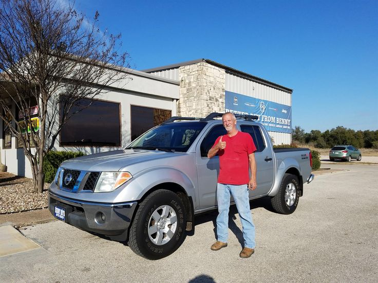 RICHARD's new 2005 NISSAN  FRONTIER! Congratulations and best wishes from Benny Boyd Motor Company - Marble Falls and DEE NIXON.