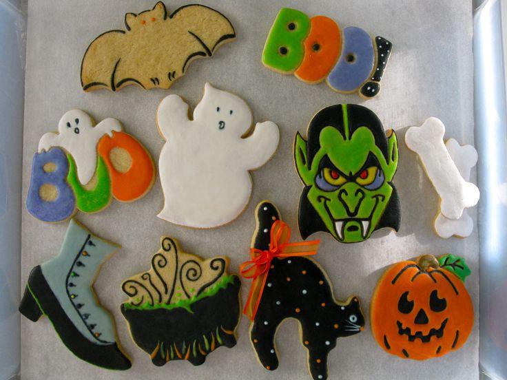 halloween sugar cookies by jinnee parr