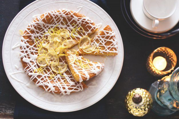 Královský citronový dort