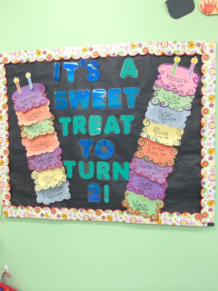 1000 Ideas About Preschool Birthday Board On Pinterest