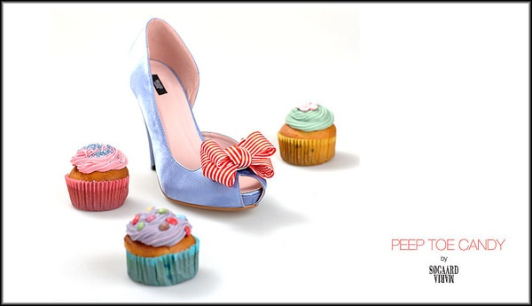 Peep Toe Candy by Maria Søgaard