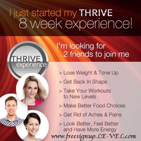 Get Started Today Free Sign Up www.freesignup.LE-VEL.com