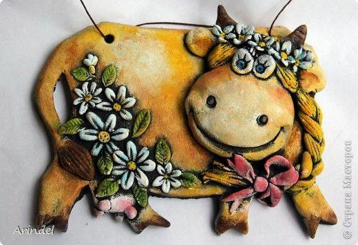 Картина панно рисунок Лепка Мои летние соления  Тесто соленое фото 15