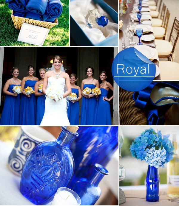 elegant rustic royal blue fall wedding color ideas 2014 #elegantweddinginvites