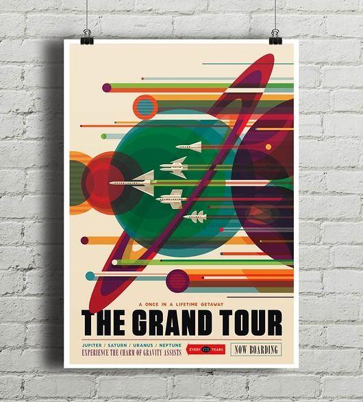 The Grand Tour - vintage plakat