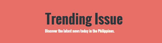 Discover the latest news today in the Philippines.